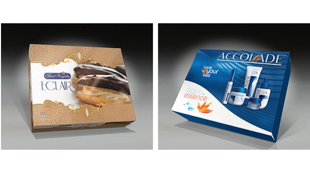 Paper Works Industries different folding cartons